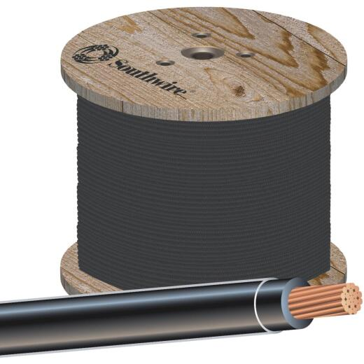Southwire 500 Ft. 2/0 AWG Stranded Black THHN Wire