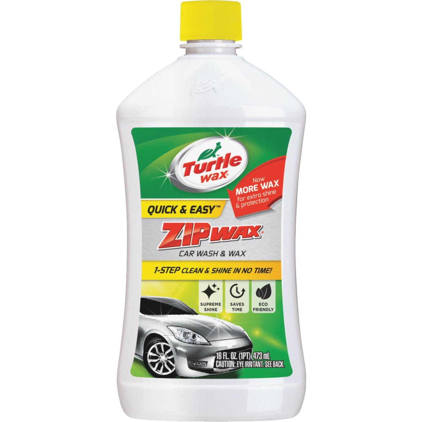 Turtle Wax Zip Wax Liquid 16 oz Car Wash Image 1