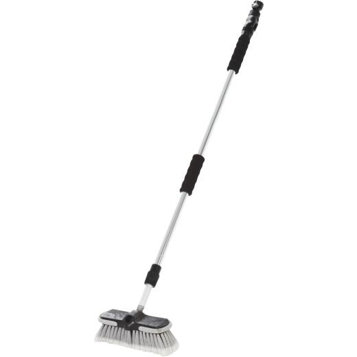 Carrand 8 In. Flow-Thru Wash Brush with Telescoping Handle