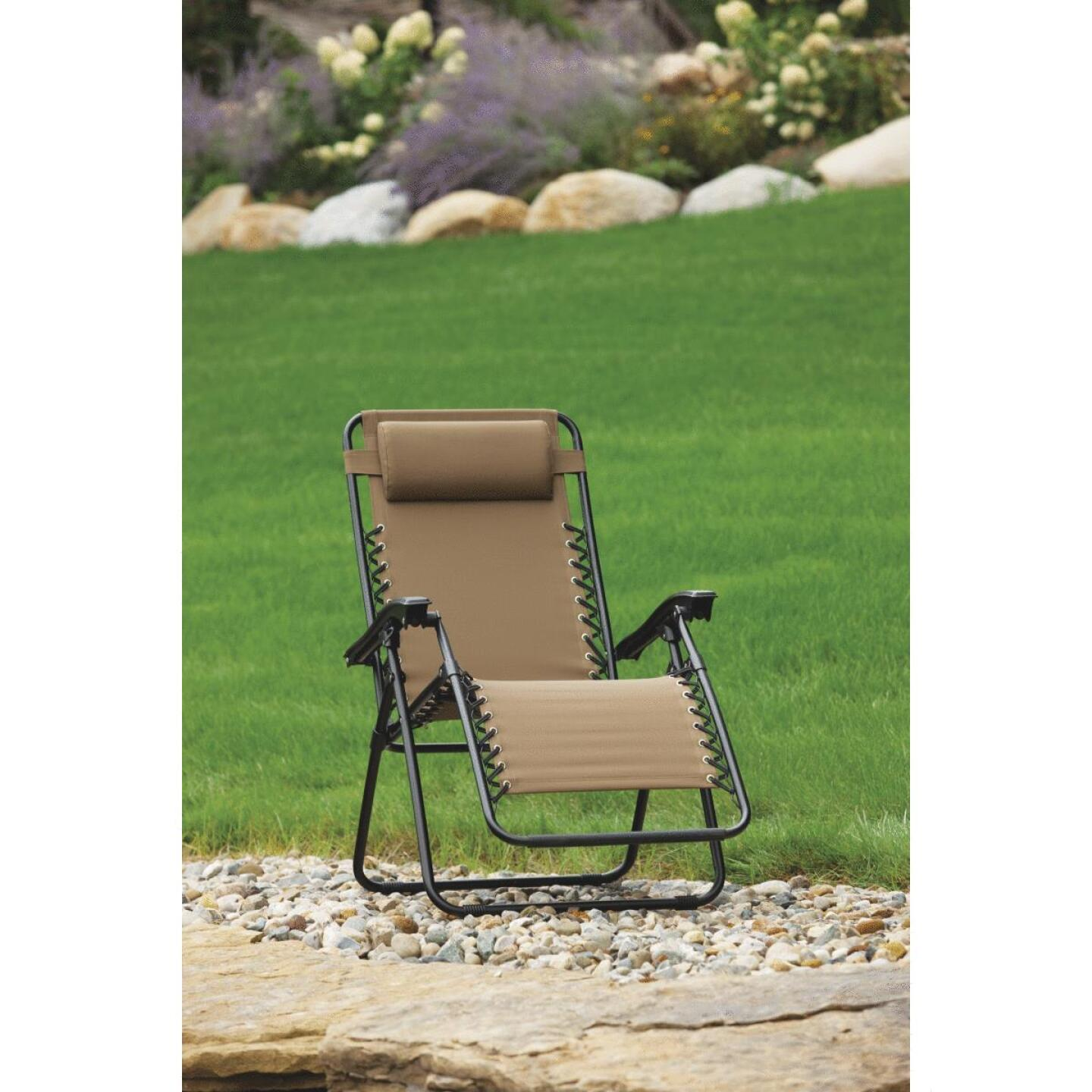Excellent Outdoor Expressions Zero Gravity Relaxer Tan Convertible Squirreltailoven Fun Painted Chair Ideas Images Squirreltailovenorg